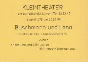 Kleintheater 1978
